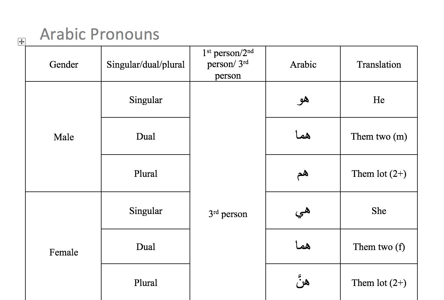 pronouns in english grammar pdf