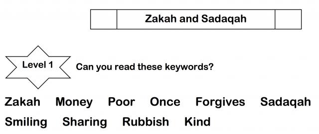 Week 20 – Zakah and sadaqah – Safar Resources